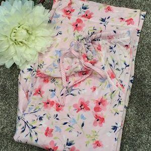 Flowery Pajama Pant